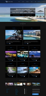 Travel and Hotel Website Template