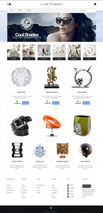 E-Commerce Website Template with Add to Cart