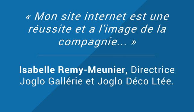 Testimonials Isabelle Remy-Meunier Directrice