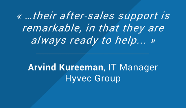 Client Reviews Arvind Kureeman IT Manager