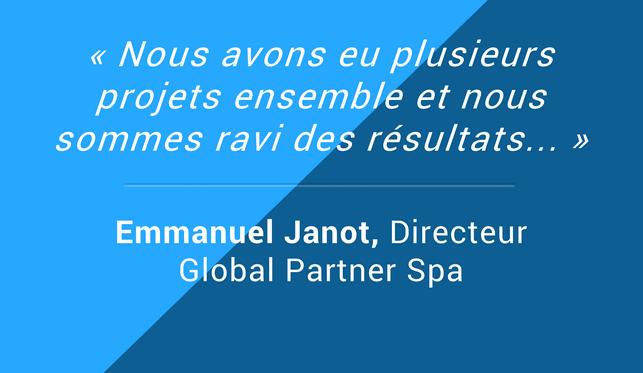 Testimonials Emmanuel Janot Directeur